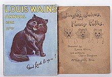 Two Books Illustrated by Louis Wain