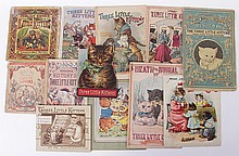 Twelve Soft Bound Picture Books About Cats