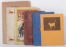 Six Small Books, Pamphlets Regarding Cats