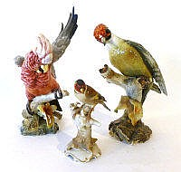 A German Hutschenreuther porcelain model of a