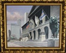 Art Institute of Chicago by Richard R. Miller