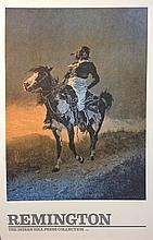 Comanche by Frederic Remington, 1890, Indian Hill Press Collection