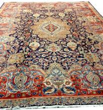 Persian Tabriz Rug, 9'10