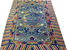 Tibetan Wool Rug, 4'3