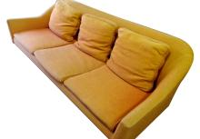 American Mid-Century Modern Three-Seat Sofa