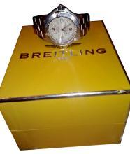 Breitling Sports Chronometer Calendar Wristwatch