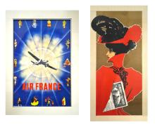 Two Color Lithograph Posters,