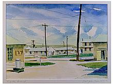 John Lear, Fort Riley Series of Six Paintings