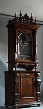A Late 19th Century Walnut Cased Polyphon. Circa