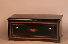 A Fine Combination Organ Music Box. Swiss. late