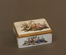 A Fine Mid Eighteenth Century Meissen and Gold