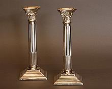 Garrard & Co Ltd. A pair of Corinthian column