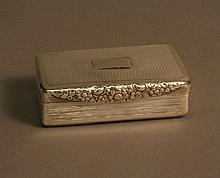 A George IV Table Snuff Box. Joseph Wilmore,