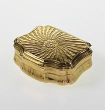 A Fine Gold Snuff Box. Probably French. Circa 1740.