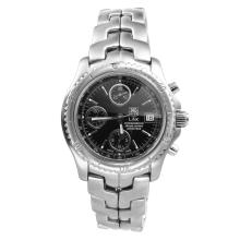 Gent's Sleek Authentic Tag Heuer Chronometer Automatic  Watch