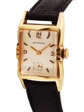 Gent's Sought-After Authentic Designer Collectable Wittnauer Mechanical Watch