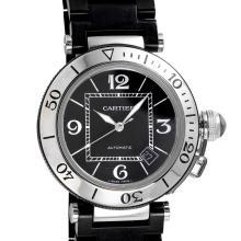 Gent's Elegant Genuine Authentic Designer Cartier Pasha Seatimer Watch. - #1707