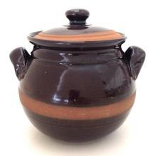 Eugenijus Tamosiunas - Hand Made Ceramic Jar with Lid! Hand Signed by the Artist! - #2633