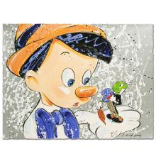 Boy Oh Boy Oh Boy Disney Limited Edition Serigraph by David Willardson, Numbered and Hand Signed with Certificate of Authenticity! - #2650