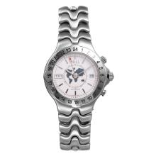 Gent's Ebel World Time Automatic  Stainless Steel Watch - #1378