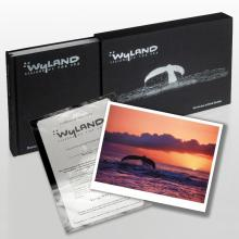 Wyland: Visions Of The Sea (2008) Limited Edition Collector's Fine Art Book by World-Renowned Artist Wyland, with Numbered, Hand Signed and Thumb-Printed Vellum Front Page and Lithograph! Includes Certificate of Authenticity! - #2677