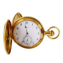 Heirloom Style Genuine Authentic Designer Tiffany & Co. Vintage Pocket 18KT Yellow Gold Watch - #992