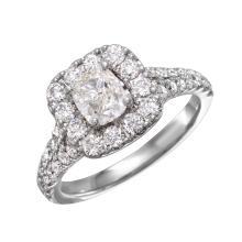14KT White Goild 1.55ctw Diamond