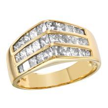 14KT Yellow Gold 1.00ctw Diamond Ring - #2313