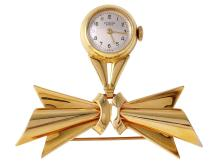Ladies 14KT Yellow Gold Geneve Nurse's Watch