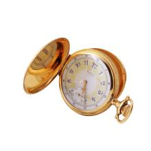 Gent's Elegant Designer Elgin Hunter 14KT Yellow Gold Pocket Watch - #831
