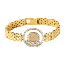 Authentic Designer *Chopard* Happy Diamonds 18KT Yellow Gold Watch - #142