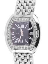 Ladies Genuine Authentic Bedat No. 3 Stainless Steel Diamond Watch - #94