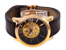 Sleek Genuine Authentic Designer Corum Classical Skylight Skeleton Limited Edition Number 25 of 40 Watch - #1708