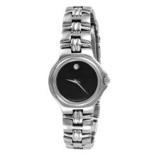 Ladies Stylish Authentic Designer Movado Museum Watch with Black Dial - #1370