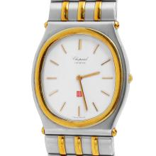 Chopard Monte Carlo Mens Stainless & 18KT Yellow Gold Watch