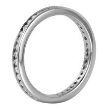 14KT White Gold 0.59ctw Diamond Eternity Ring