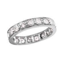 Gorgeous 1.50ctw Diamond Platinum Wedding Band
