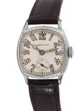 Sleek Geometric Authentic Designer Hamilton Manual Wind 14KT Gold Filled Watch - #909