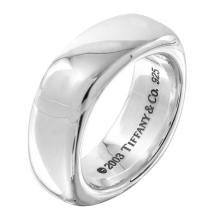 Tiffany and Co. Square Cushion Band Ring - Size 7.25 - #2336