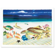 Conch Republic (Left Panel) by Wyland