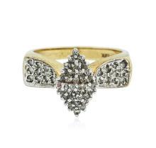 14KT Yellow Gold 0.36 ctw Diamond Ring