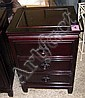 CHESTS, a pair, three drawers, Chinese style, in