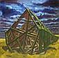 STEPHEN BARCLAY (British, b. 1961) 'Fallen spire,