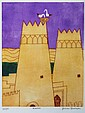 JULIAN TREVELYAN (British, 1910-1988), 'Kasbah',