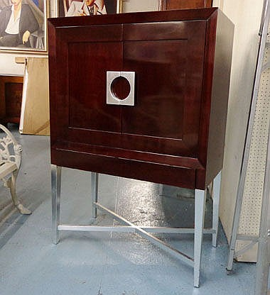 CABINET, designed by Johnson Stewart, for T.V.,