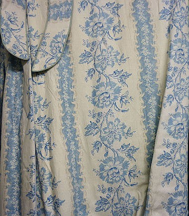 CURTAINS, a pair, in a Pierre Frey linen floral