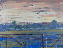 MAUREECE MICAL TAYLOR (British), 'Syon Park, The Gillette Buillding Vista',