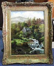 WILLIAM HENRY MANDER (British,1850-1922), 'Mill on the Arran, Dolgelly', 18