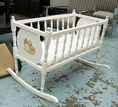 COT, by Dragon, rocking type, in ivory finish with