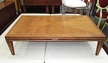 LINLEY LOW TABLE, with a frieze drawer on square